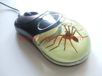 amber mouse - Real Spider Insect Amber D USB Computer Optical Mouse for Laptops amp Desktops Novel Spider Man Gift Office Gift