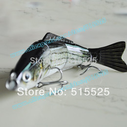 Wholesale best popular lure of fishing Multi Jointed Fishing Lure Bait Swimbait Bass Shad Minnow