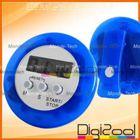 Wholesale Digital LCD Timer Stop Watch Kitchen Cooking Countdown Clock Alarm New Hot