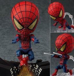 """Boîte d'araignée jouet en Ligne-Gros-Livraison gratuite mignon 4 """"Nendoroid Spider-Man Spider Man Spiderman Boxed action PVC Figure Collection Cadeau Toy Model # 260"""