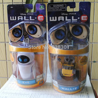 Wholesale Brand New US Pixar Cartoon Action Figure Toys Rabot Wall E amp EVE PVC Action Figure Model Toy For Kids