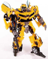 Wholesale NEW HOT Transformation Robot Human Alliance cm Bumblebee and Sam Action Figure Toys classic toys With origial box