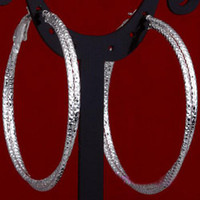 Wholesale new fashion jewelry sterling Silver Cheap mm Round Circle Earrings Loop
