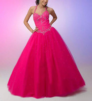 Wholesale 100 Hight Dress Bridesmaid Gown Prom Ball Hot Pink Custom
