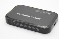 Wholesale HDD Media Player Support ReadSD SDHC MMC Card HD Player with Remote Control TV Player