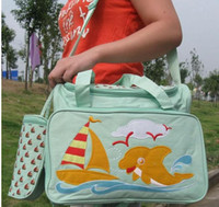 Wholesale Baby Diaper bags bag Mummy bag Mother bag Nursery bags baby care bags Mama baby products