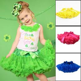 Wholesale-Baby TuTu Skirt New 2015 Saia Girls Chiffon Fluffy Pettiskirts Tutu Princess Dance Party Tulle Skirt