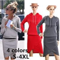 Cheap Wholesale-Women baseball jacket casual sweat skirt suits sport sweatshirt shorts tracksuits animal hoodies dress suit LSP487QAF 2 pieces