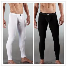 Wholesale-Free Shipping N2N Mens Underwear Cotton Thin Warm Pants   Trousers   Long Underwear   Jeans Backing Pants