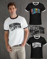 Cheap Wholesale-Unique BBC Letter Printed Billionaire Boys Club Men t-shirts Top Cotton Round Neck Hip Hop Roll Tshirt BILLIONAIRE BOYS CLUB