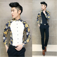 Black Clothing Designers For Men Wholesale man spring slim