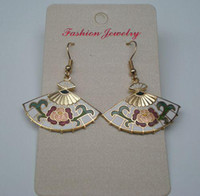Wholesale Cheap Ethnic Earring High quality Chinese Fashion Cloisonne Earrings Jewelry mix Free