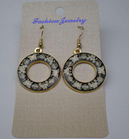 Wholesale Fashion Ethnic Earring Cheap High quality China Cloisonne Earrings Jewelry mix Free