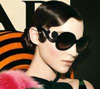 Precio de Gafas de diseño fresco-gafas de sol polarizadas al por mayor-Nuevo vintage fresco lindo muchachas de las mujeres diseñador Gafas de sol redondas en línea Gafas de sol eyegalsses 54