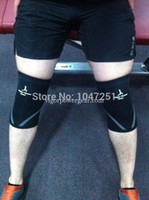 knee and elbow pads - XS S M L and XL XXL black mm power lifting knee sleeve ref rehband brand VPG WL