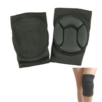 best shin guards - New Sport black durable knee shin protector protection guard pads kneepad kneepads best deal pair