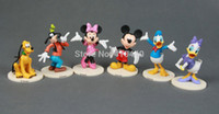 figurines - New Set Mickey and Minnie Mickey Mouse Clubhouse Figurine Deluxe Figure Set