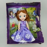 animator doll - inch princess animators collections The First Sofia toys Doll with pet Boneca Princess Sofia For Kids Gift