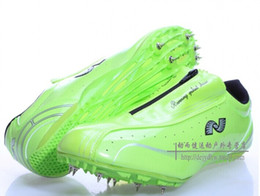 Wholesale men s track and field sprints spikes shoes running shoes