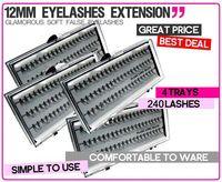 Wholesale 240 X EXTENSION EYE LASH INDIVIDUAL CURL EYELASH