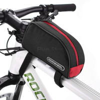 Wholesale Waterproof ROSWHEEL L Cycling Bike Front Frame Bag Bycicle Bike Accessories Tube Pannier Bag for Cellphone