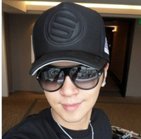 Wholesale new Korean summer Show Luo STAGE hat tide men lorry cap truck mesh cap