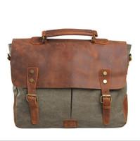 achat en gros de cuir véritable sac fourre-tout des hommes-hommes gros- sac à main de véritables sacs à bandoulière en cuir sacs marques célèbres sac de messager occasionnel mallette fourre 5 couleurs 6807 voyage