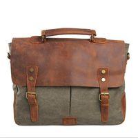 Wholesale men handbag genuine leather shoulder bags travel bags famous brands casual messenger bag briefcase tote colors
