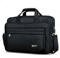Wholesale Fashion Nylon Oxford Men Laptop Briefcase Notebook A4 Document Bag Office Business Man