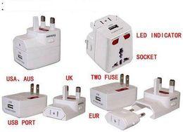 USB travel adapter plug, multi-function USB power plug charger, universal converter!!