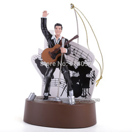 Wholesale Elvis Animated Ornament with Music and Lights Action Figure Toys CM OTFG029