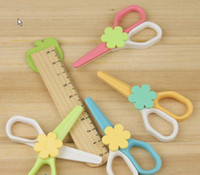 Wholesale CREATIVEBAR Kids Children Hand Safe plastic scissors