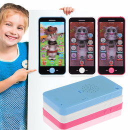 Étude sur les enfants en Ligne-Gros-bébé Learning Study Toy Music Mobile téléphone à écran tactile pour enfants Jouets éducatifs