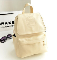 Wholesale New Fashion Women s Backpack colors crown Genuine Leather high quality Book School Party Travel backpack Bags Mochila