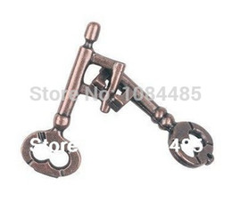 Wholesale-Classic Metal Brain Teaser Cast Key Puzzle Game Toy for Adults and Kids