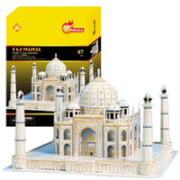architecture india - DIY D Three dimensional Jigsaw puzzle Puzzle Toys Architecture Model India Taj Mahal model M