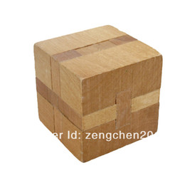 Wholesale-Free shipping,Wooden puzzle,3d puzzle ,jigsaw puzzle,educational wooden toy, cube puzzle