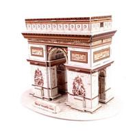 arch d paper - Educational toy Paper Models d puzzle world famous building model educational puzzles assembly parent Roman triumphal arch