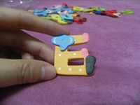 alphabet stickers lot - A Z Alphabets cartoon animals wooden fridge magnets letters refrigerator sticker kids education tools DIY toy packs
