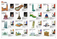 animal architecture - Petronas Towers D puzzles DIY world s great architecture G168
