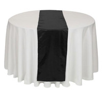 Wholesale Clearance Table Runner Black Satin Brand New J02909