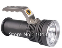 Wholesale NEW Lm CREE Q5 High Power LED Flashlight Torch Searchlight head lamp