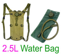 army sleeping system - L TPU Hydration System Bladder Water Bag Backpack Army Green