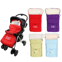 Wholesale Baby Sleeping Bags Winter Newborn Envelope Blanket Children Sleepsacks in Stroller Infant Fleabag
