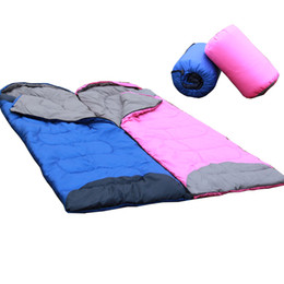 Wholesale-Free shipping Spring and summer can be patchwork sleeping bag lovers sleeping bag camping sleeping bag envelope sleeping bag