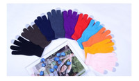 Wholesale Freeshipping Knit Wool Touch Gloves for Smart phone Touch Screen Gloves for touch screen pairs