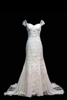 Wholesale Excellent Chiffon Strapless Wedding dress Gown