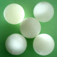 Wholesale 200 High Quality Cute Flashing Golf Ball LED Golf Balls For Playing Colors change