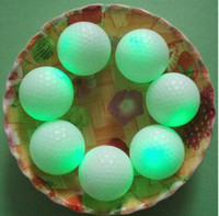 Wholesale 20 High Quality Cute Flashing Golf Ball LED Golf Balls For Playing Colors change