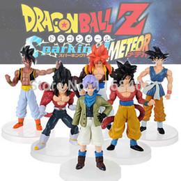 Wholesale-New Dragonball Z Dragon Ball DBZ Anime 15cm Goku Vegeta Piccolo Gohan super saiyan Joint Action Figure Toy 6 pcs Set